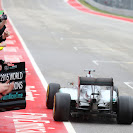 Lewis Hamilton wins the race and the championship