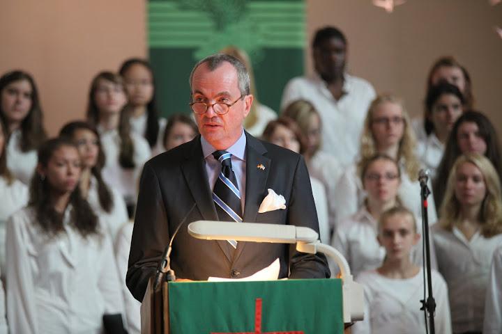 Botschafter Murphy in der American Church