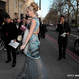 WWW.ENTSIMAGES.COM -  Nina Naustdal   arriving at      The Asian Awards at Grosvenor House, 86-90 Park Lane, London April 16th 2013                                            Photo Mobis Photos/OIC 0203 174 1069
