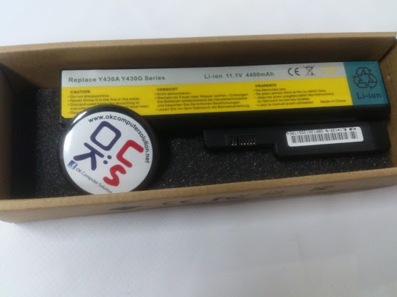 New Battery For Lenovo Y430