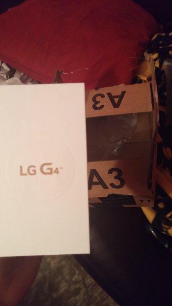 LG G4到着