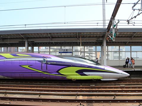 JR西日本 山陽新幹線「こだま741号」500 TYPE EVA 三原駅にて その2