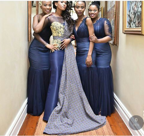 shweshwe dresses for wedding _South African Traditional Dresses 4