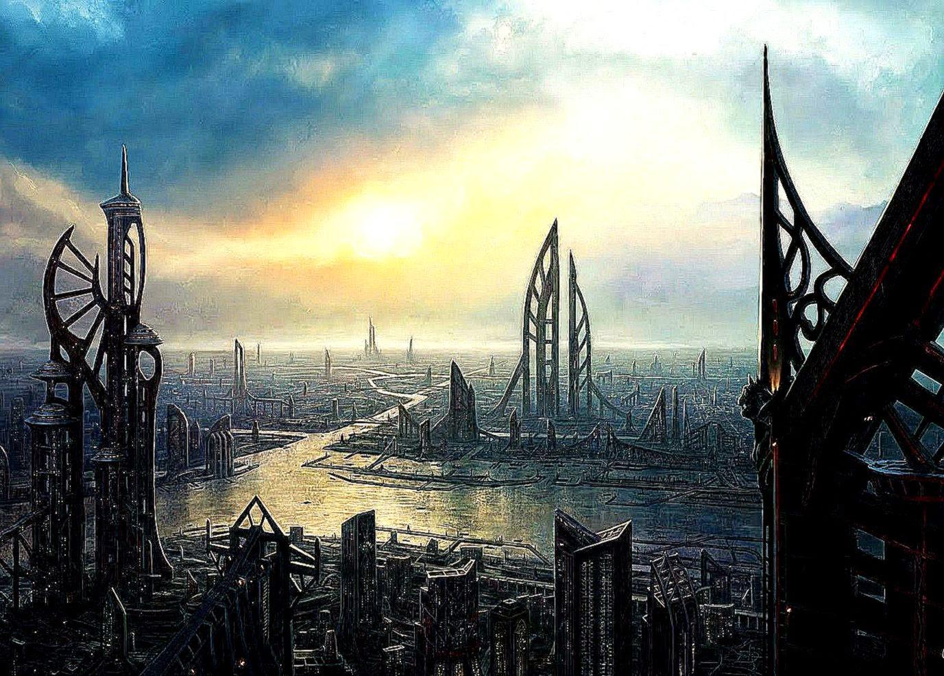 3D Landscape Sci Fi Cities Picture Nr 54688