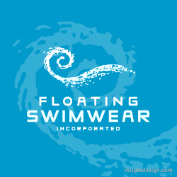 Floating Swimwear logo design Wichita, KS