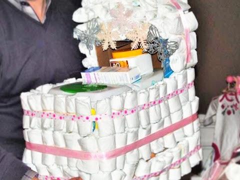 How to Make a Diaper Bassinet