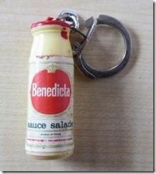 Bénédicta sauce salade