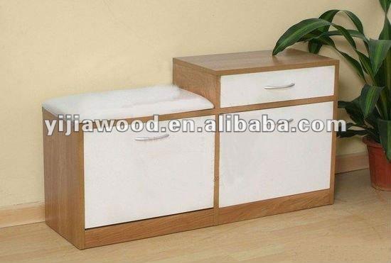 Vizu Home Wood Shoe Cabinet