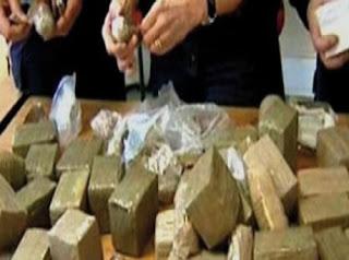 Tébessa :Saisie de 3,5 kg du kif traité