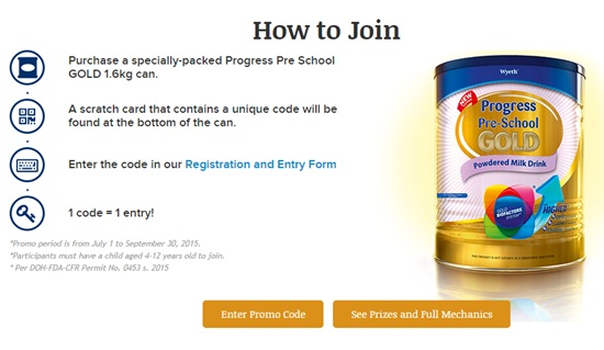 announcement, Progress Pre-School GOLD, promos, promos in the Philippines