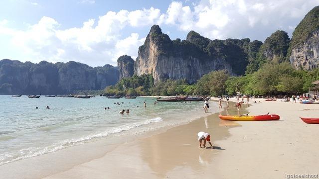 Railay West Beach, Krabi