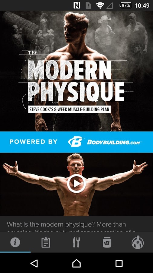 Steve Cook Modern Physique- screenshot