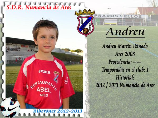 ADR Numancia de Ares. Andreu.