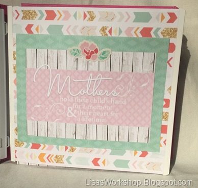 Creative Memories Mother's Day Blog Hop on Lisa's Workshop