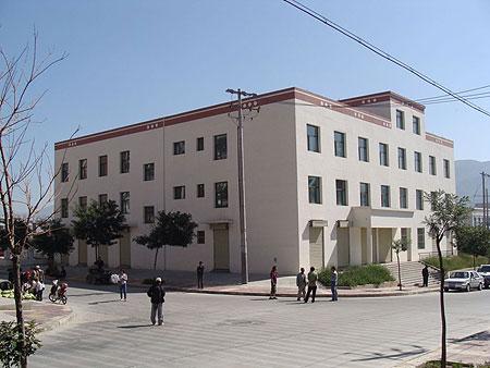Building of Amdo Eye Hospital 2010