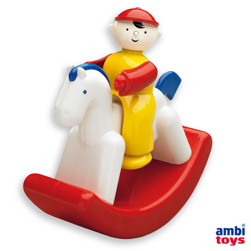 Contenido de Ambi® Toys Balancín Rocky Jocky
