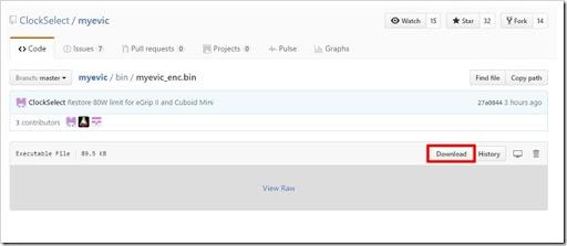 """Firmdownload thumb%25255B2%25255D - 【Soft】Joyetech eVic VTwo/VTC Mini/Eleaf iStick Pico他のカスタムファームウェア""""Clock Select""""&""""ArcticFox""""で複数機能を追加して超絶パワーアップ!!【CFM/Cuboid200/RXMini/RX300/Eleaf対応】"""