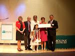 Aracely Van Kirk received Molina Health Care award