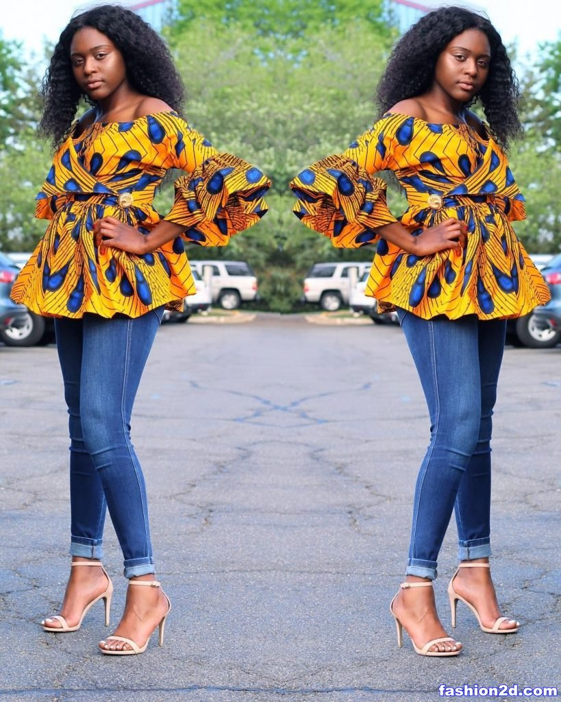 Trendy Ankara Tops Styles For Africans Womens Fashion 2D