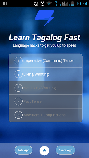 Learn Tagalog Fast