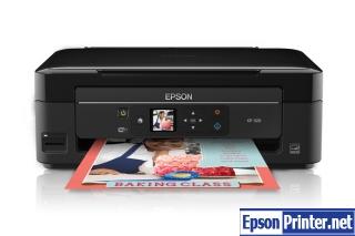 How to reset Epson XP-208 printer