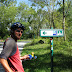 34e vakantiefietserstickertje. Op de Loire a velo fietsroute.
