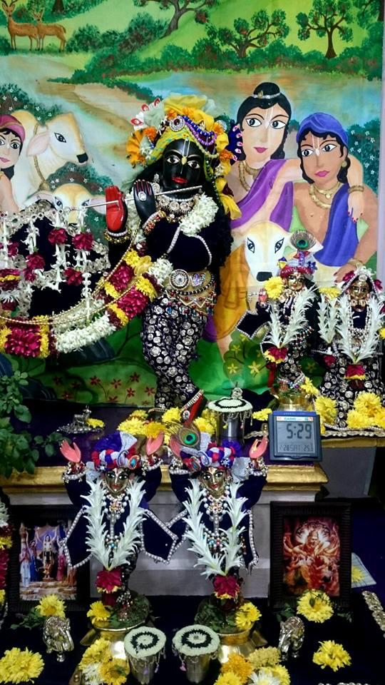 ISKCON Bhusawal Deity Darshan 22 Jan 2016 (4)