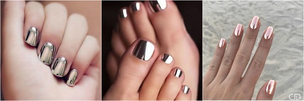 Metallic -Nail-Art - Ideas-Mystylespots-2017