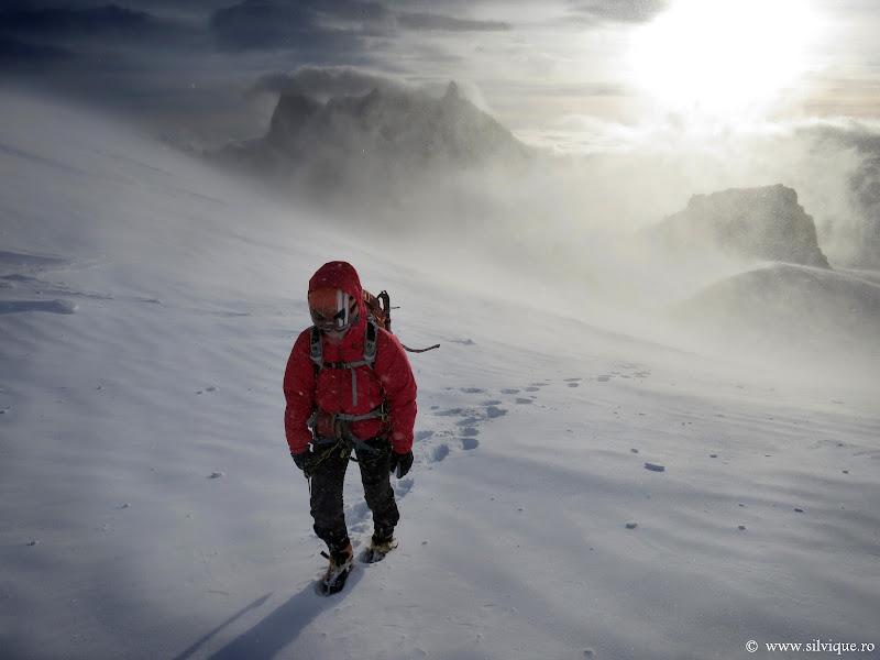 2013.12.23 - Chamonix - Incercarea traseului Supercouloir