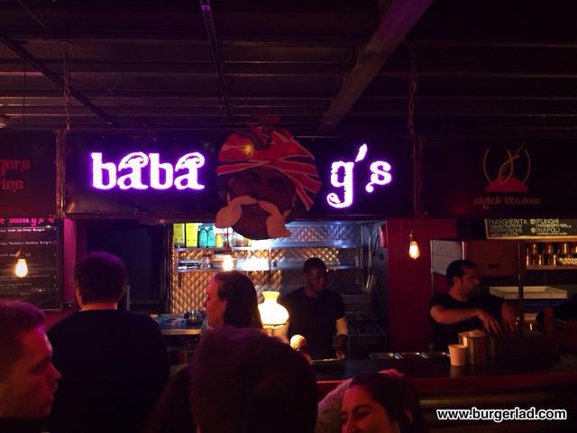 Baba G's Bhangra Burgers Crazy Lamb Jalfrezi Burger