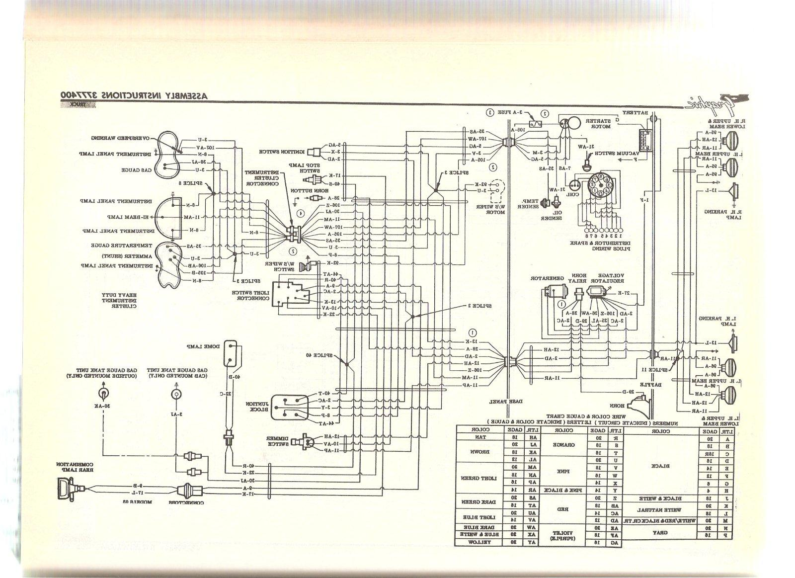 Electrical Wiring Diagram 1954 Dodge Library