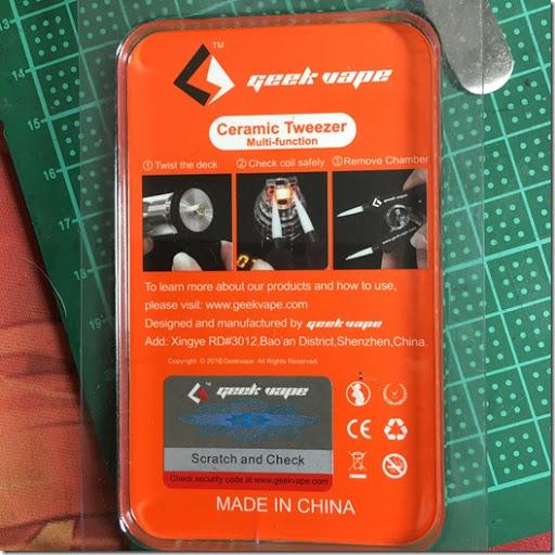 IMG 0960 thumb%25255B1%25255D - 【MOD/ツール】「UD Sifu B-Tab」とGeekVape多機能セラミックピンセットのレビュー。これがあればビルドが始められる!【ビルド/電子タバコ】