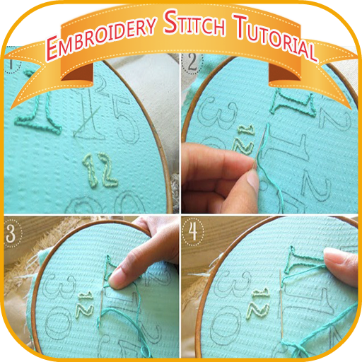 Embroidery Stitch Tutorial