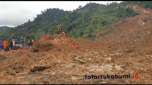Lokasi Longsor Cisolok Sukabumi / Foto : TatarSukabumi.ID