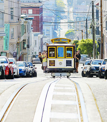 Move aside the boring car….for here comes the majestic Tram