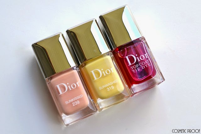 Dior Tie Dye Collection Summer Review Swatch