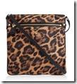 Michael Kors Nylon Leopard Print Cross Body Bag