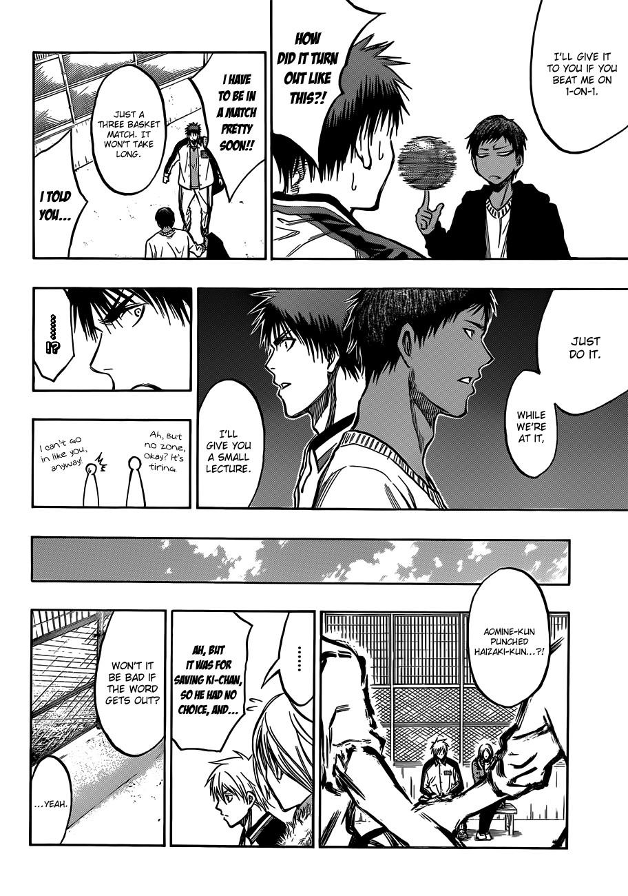 Kuroko no Basket Manga Chapter 174 - Image 12
