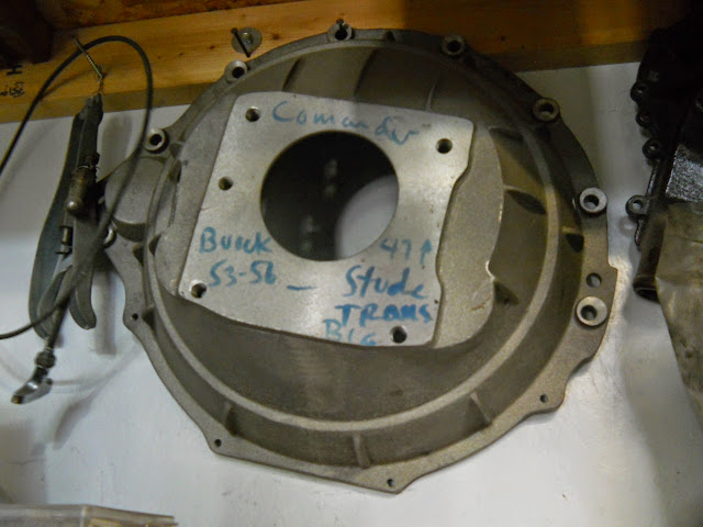 Bell housing for Studebaker trans. We can talk price for complete setup.