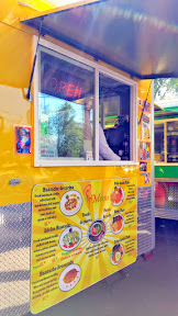 Portland Mercado has 8 carts in the food cart pod, where each food cart specializes in different Latin cuisine. Las Adelas Mexican Comfort Food offers some unique dishes like Huarache and Pozole (either chicken or pork soup and hominy with tostada, onion, radish, cilantro, lemon and sauce)