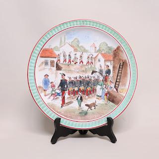 Creil et Montereau French Porcelain Plate