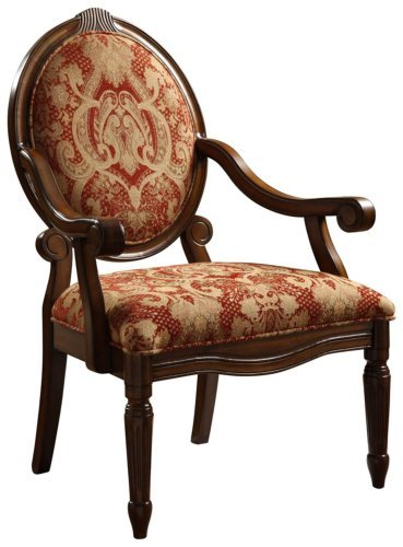 Cheap Brentwood Burgundy Accent Chair Accent Chairs