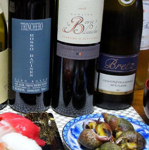 つぶ貝に合わせるワイン