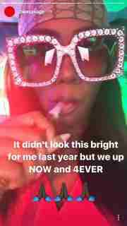 """""""It didn't look this bright for me last yearbut we up now and forever"""" - Tiwa Savage reveals"""