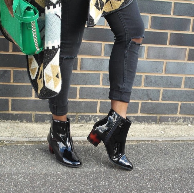 Hello Autumn featuring Primark Black Patent Boots.  16fce1964