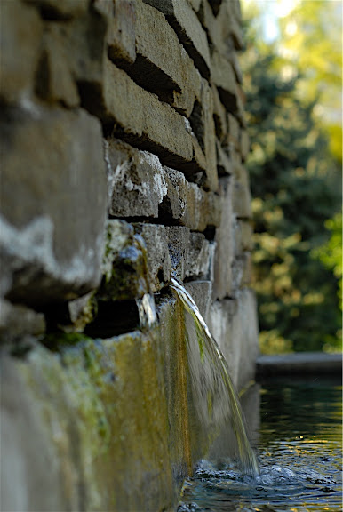 Wall , water ...