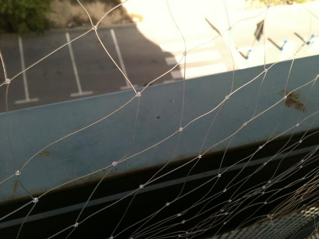 redes - Resumen de ideas para mosquiteras y redes ventanas y balcón para gatos. IMG_2655