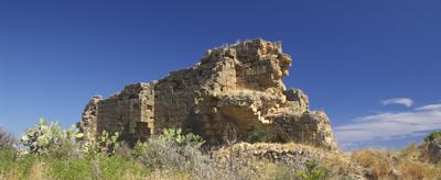 Sizilien - Altavilla Milicia - Die Ruine der normannischen Kirche Santa Maria di Campogrosso