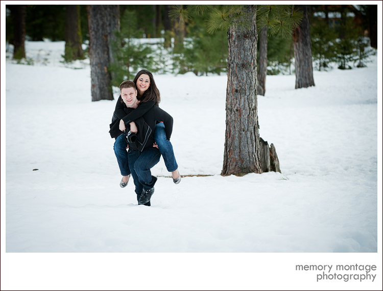 Suncadia Washington Engagement Photo