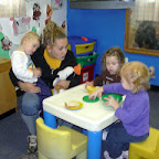 Quality is: providing our children with pretend play choices enabling them to learn about and understand their world.